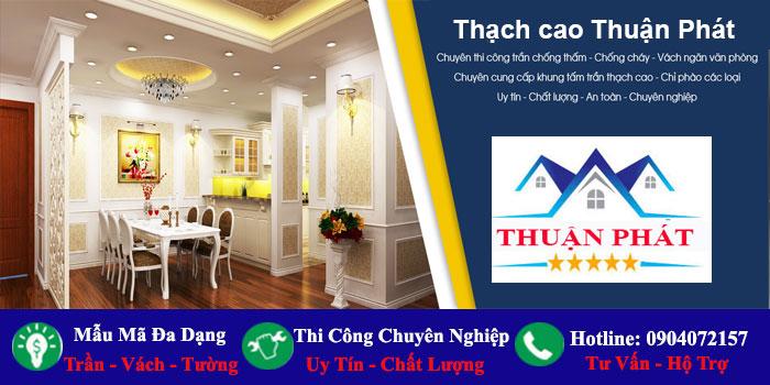 Làm trần thạch cao giá rẻ tại TPHCM