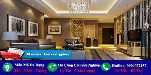 Chuyên nhận làm trần vách ngăn thạch cao Bình Tân